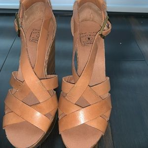 4201255d65 Lucky Brand Shoes | Kyndra Espadrilles Wedges Yellow | Poshmark